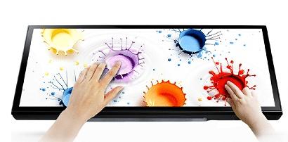 multi-touch функция на интерактивни дисплеи GAOKE - до 10 човека могат да работят едновременно