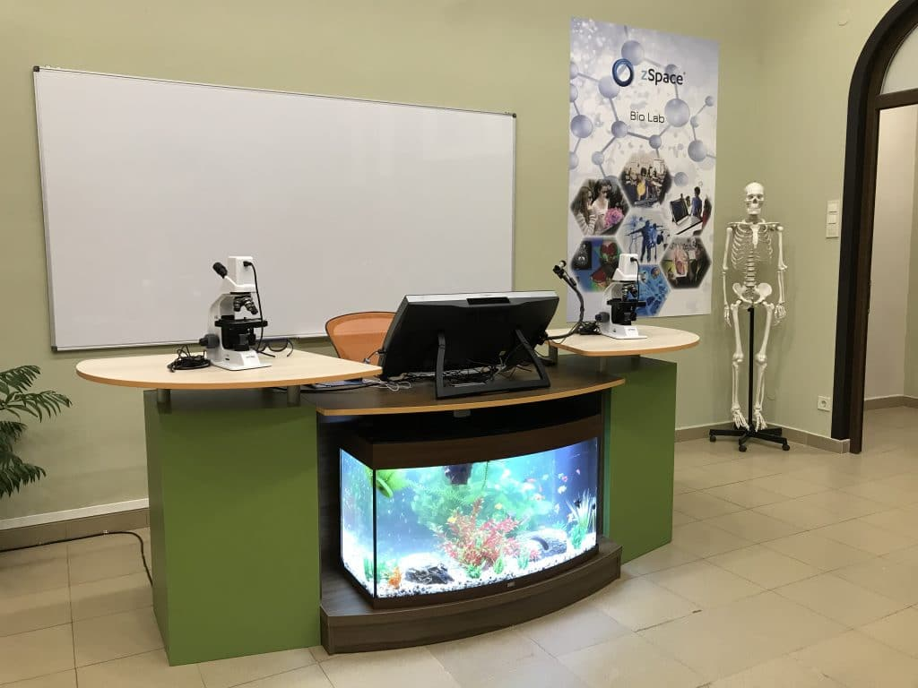 "zSpace® STEM виртуална лаборатория - СУ ""Христо Ботев"" - гр. Враца"