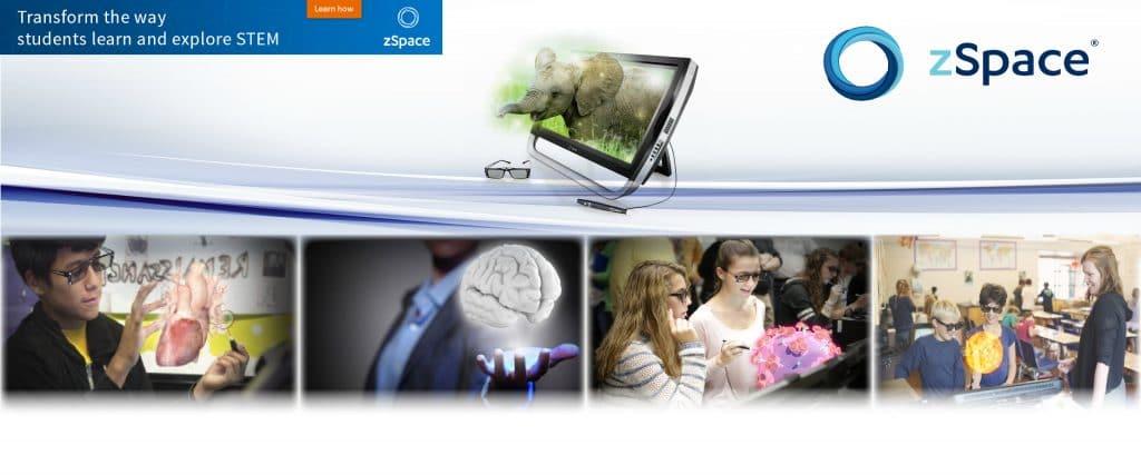 Технологията на zspace е изцяло насочена към STEM обучението