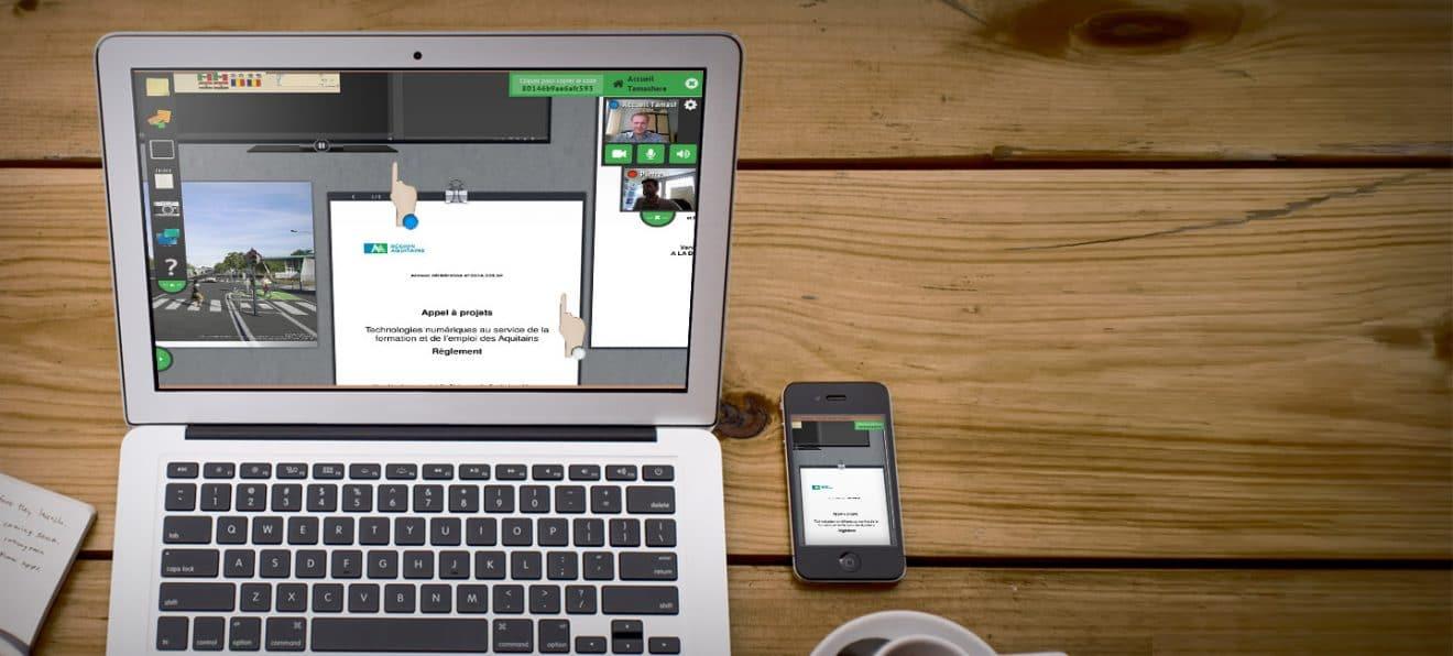 Tamashare - софтуер за виртуална класна стая Image