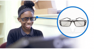 сложете 3D очилата преди работа с иновативната технология на zSpace®
