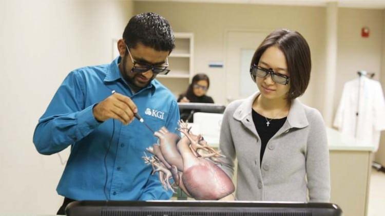 zspace® за обучение по медицина и анатомия