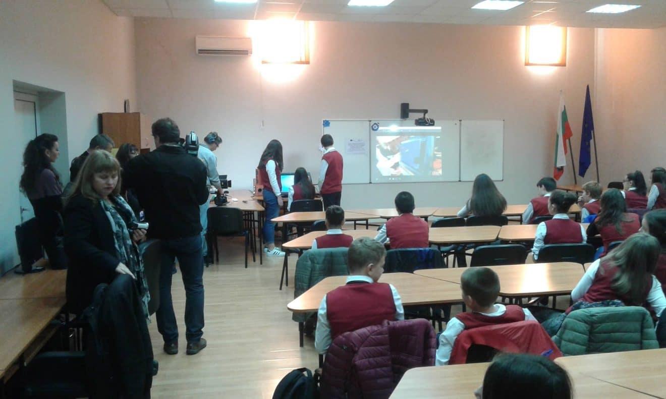 Репортаж на bTV за виртуалната реалност в час | zSpace България