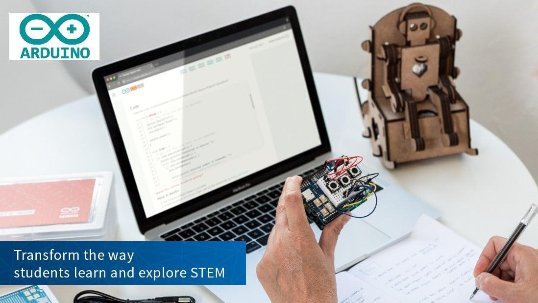 Arduino за образованието е програма, насочена към практическото обучение в STEM направлението